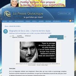 Biographie de Steve Jobs : L'homme derrière Apple