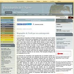 Biographie de Verdi par un contemporain - agora.qc.ca