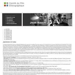 Jean Rouch Biographie version longue