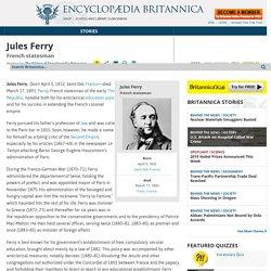biography - French statesman