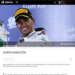 BIOGRAPHY: Lewis Hamilton Lifetime