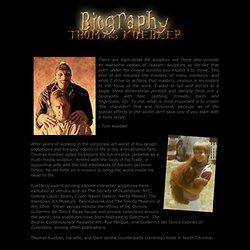Biography - Thomas Kuebler Hyperealistic Sculptor