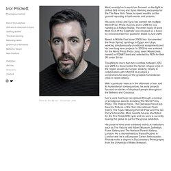 Ivor Prickett, photojournaliste