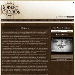 Robert Johnson Blues Foundation