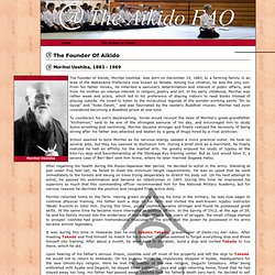 The Aikido FAQ: Biography of Morihei Ueshiba