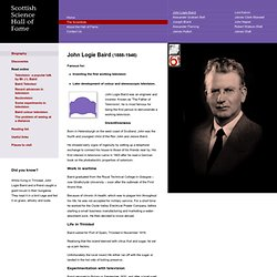 John Logie Baird biography