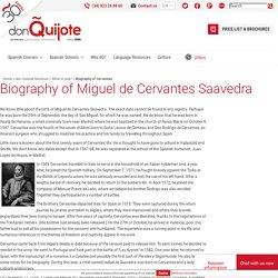 Biography of Cervantes