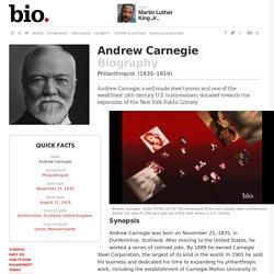 Andrew Carnegie - Biography - Philanthropist - Biography.com
