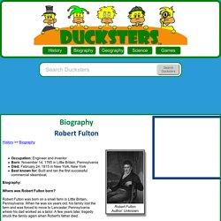 Biography: Robert Fulton for Kids