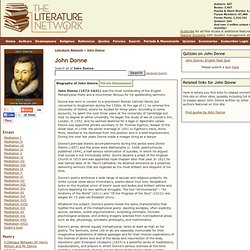 John Donne - Biography and Works