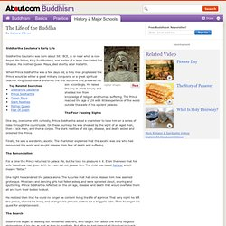 Biography of Siddhartha Gautama, the Founder of Buddhism