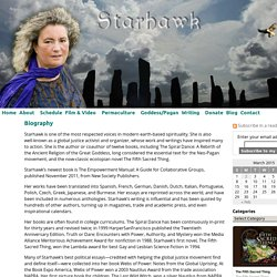 Biography « Starhawk's Website