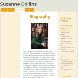 Biography - Suzanne Collins
