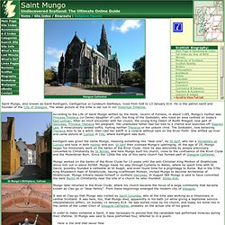 Saint Mungo Feature Page on Undiscovered Scotland