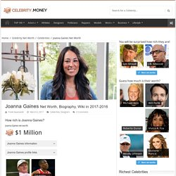 Joanna Gaines Net Worth 2017-2016, Biography, Wiki - UPDATED! - Celebrity Net Worth