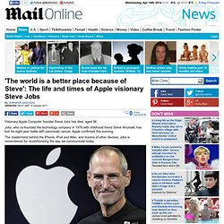 Steve Jobs dead: Biography of Apple visionary