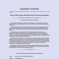 biographytemplate - handleyhigh