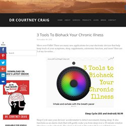 3 Tools to Biohack Your Chronic Illness — Dr Courtney Craig