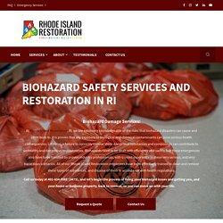 Biohazard Safety and Restoration Services In Rhode Island