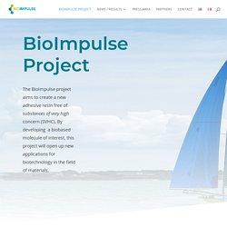 Projet pour une nouvelle résine biosourcée