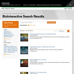 BioInteractive Search Results