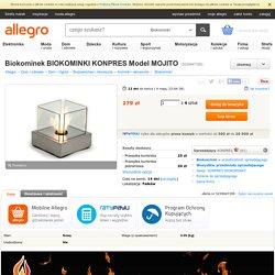 Biokominek BIOKOMINKI KONPRES Model MOJITO (5239947395)