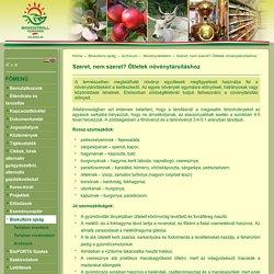 Biokontroll Hungária Nonprofit Kft. - Szeret, nem szeret? Ötletek növénytársításhoz