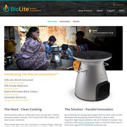 BioLite HomeStove Overview