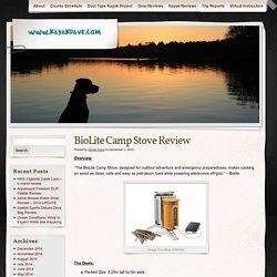 BioLite Camp Stove Review