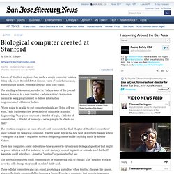 Biological computer created at Stanford