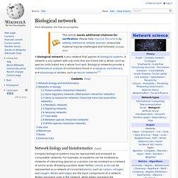 Biological network