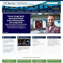 UCI School of Biological Sciences