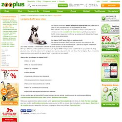 Le régime BARF pour chien (Biologically Appropriate Raw Food) - Conseils zooplus