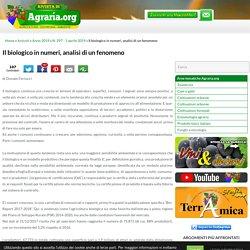Il biologico in numeri, analisi di un fenomeno - Rivista di Agraria.org