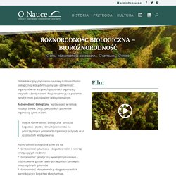 Różnorodność biologiczna – Bioróżnorodność