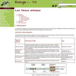 Biologie 1 - 701 - Tissus