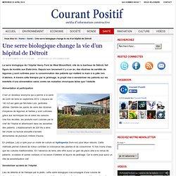 Une serre biologique change la vie d'un hôpital de Detroit