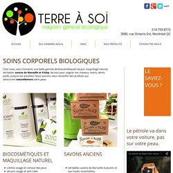 Produits de soins corporels biologiques - biocosmétiques