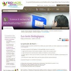 Les tests biologiques