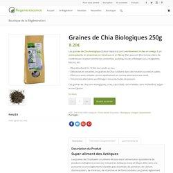 Graines de Chia Biologiques 250g - Regenerescence