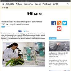 Une biologiste explique que le THC tue complètement le cancer