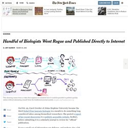 Handful of Biologists Went Rogue and Published Directly to Internet