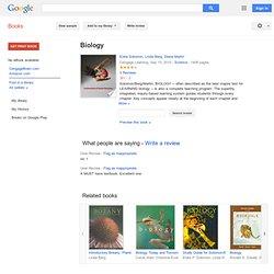 Biology (Solomon) - Eldra Pearl Solomon, Linda R. Berg, Diana W. Martin - Google Books