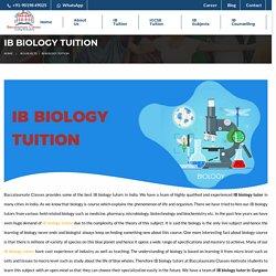IB Biology Tutor - Baccalaureate Classes