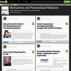 Biomarkers and Personalized Medicine