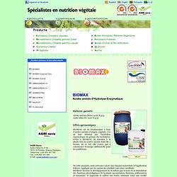AGRI Nova - BIOMAX, Amino-acide d'Hydrolyse Enzymatique