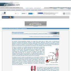 Biomecánica - Esfuerzos Estáticos Coplanares - ergonomía y prevención de riesgos laborales
