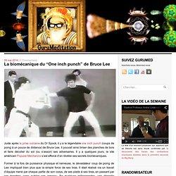 """La biomécanique du """"One inch punch"""" de Bruce Lee"""