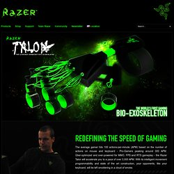 Razer Talon High Precision Biomechatronic Exoskeleton | Razer Talon