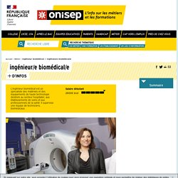 ingénieur biomédical - ingénieure biomédicale